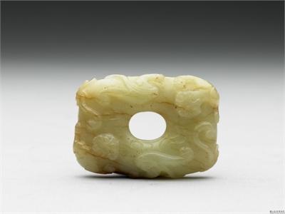 宋 黃玉橢圓環