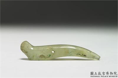 北陰陽營文化  玉髓耳飾玦