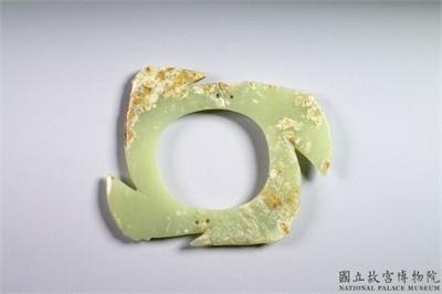 山東龍山文化晚期 牙璧