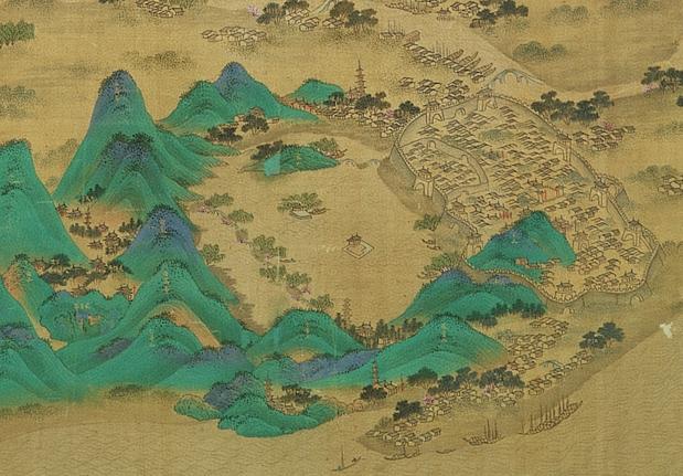 京杭運河圖