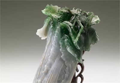 清 翠玉白菜