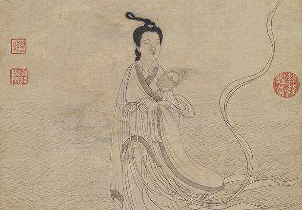 元 衛九鼎 洛神圖