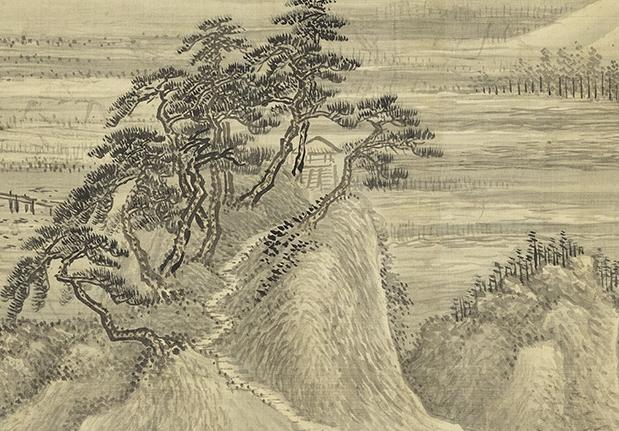 清 王翬 夏山烟雨圖