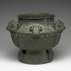 Late Shang dynasty (13-12th century B.C.)