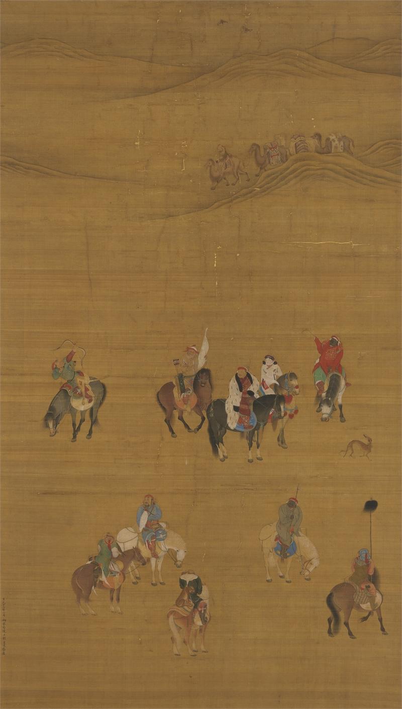 Khubilai Khan Hunting