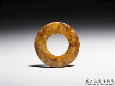 新石器時代晚期 素系璧
