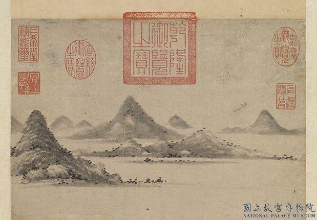 元衛九鼎洛神圖 軸