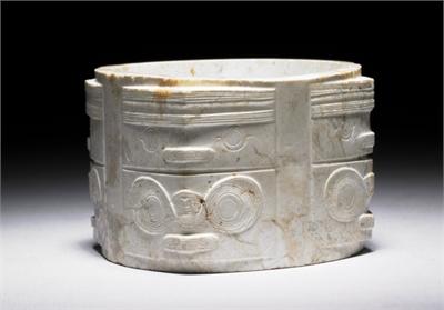 良渚文化中期 玉琮