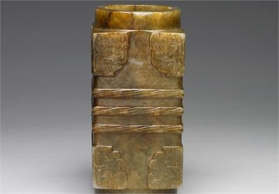 新石器時代晚末期 龍山-齊家系 玉琮