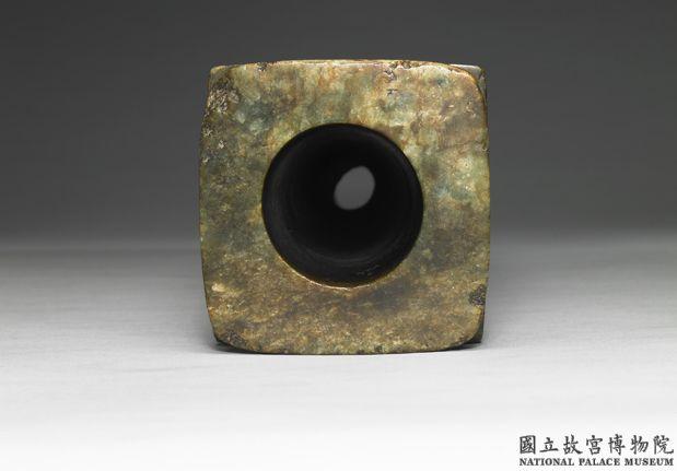 良渚文化晚期 玉琮