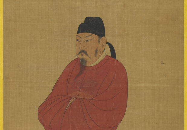 唐太宗立像(二)軸