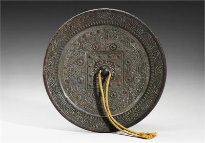 新莽-東漢早期 「仙人不老」博局鏡
