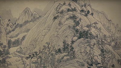 Landscape Reunited - Huang Gongwang and