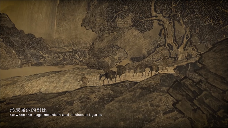 「筆墨行旅」繪畫篇- 2-2 范寬-谿山行旅圖