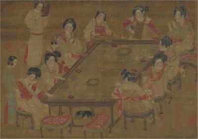 唐人宮樂圖