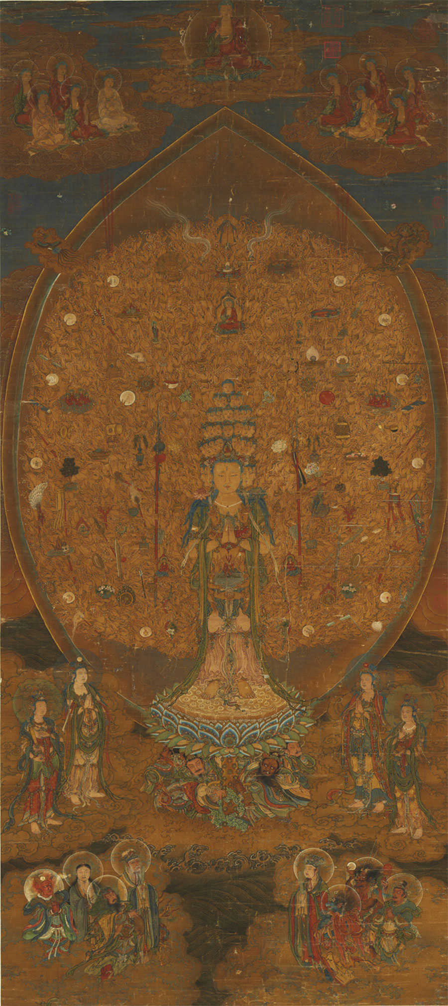 Kuan-yin of a Thousand Arms and Eyes