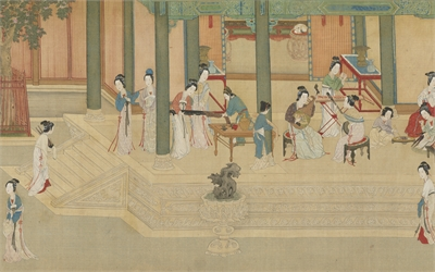Spring Dawn in the Han Palace