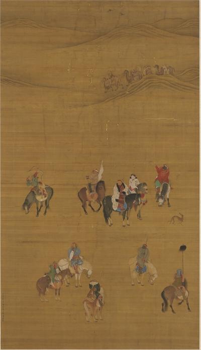 Kublai Khan Hunting