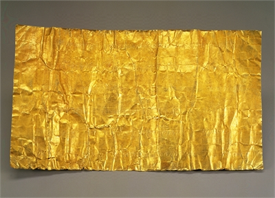 Gold-leaf Tributary Document from Siam