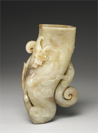 Dragon-design Horn-shaped Cup