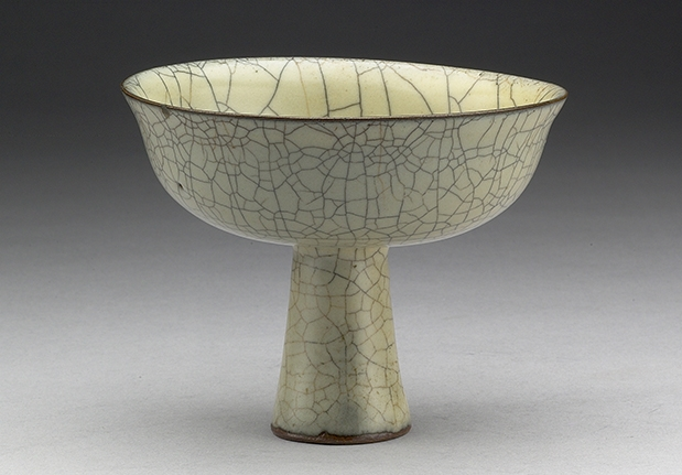 Ko Ware High-stemmed Bowl