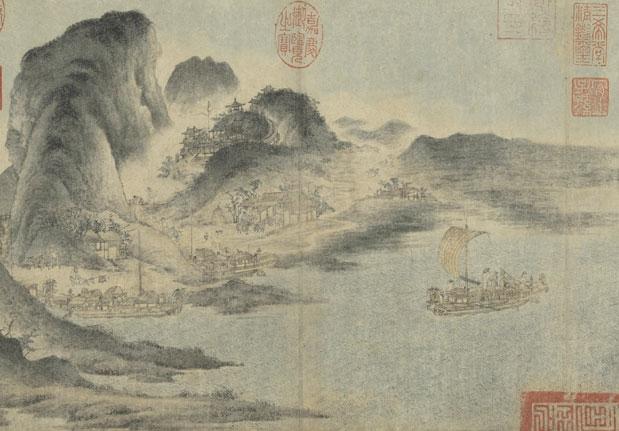 宋人 江帆山市